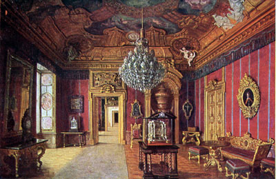 Chamber Of The Black Eagle, Parade Rooms, Andreas Schlüter