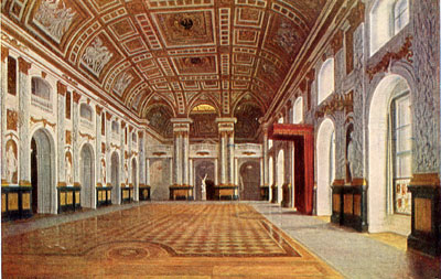 Interiors Of The Palace General Views Amber Room Berlin