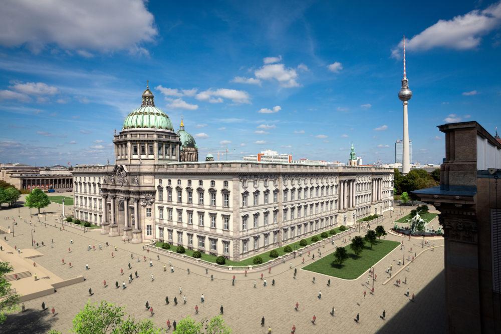 Berliner Schloss Besichtigung