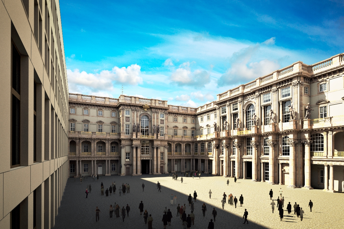Humboldt stiftung berliner schloss webcam