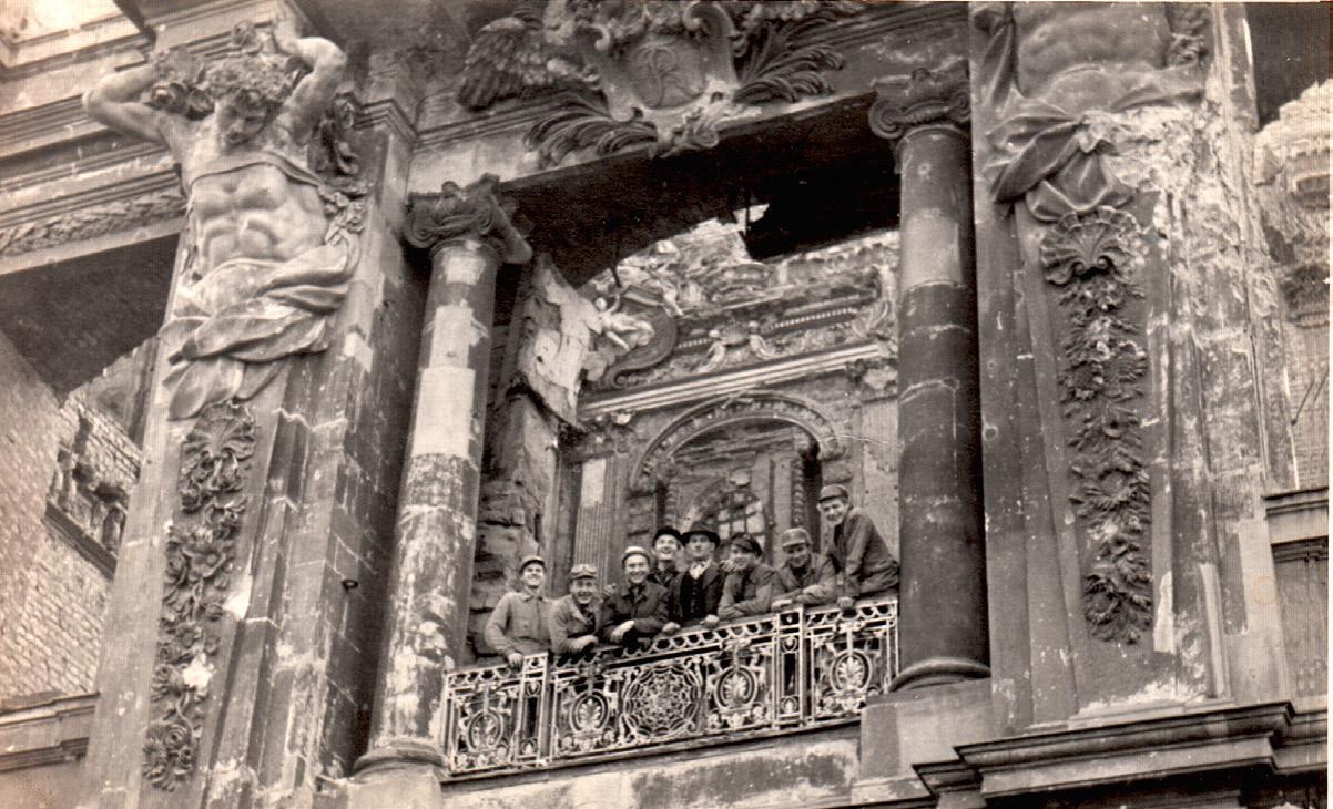 Die Hermenpilaster Des Portal V Berliner Schloss