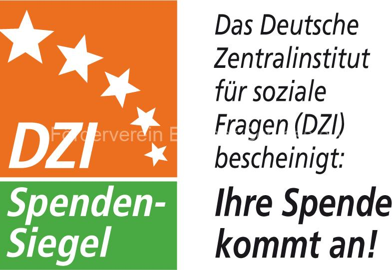 dzi spendensiegel neu Start