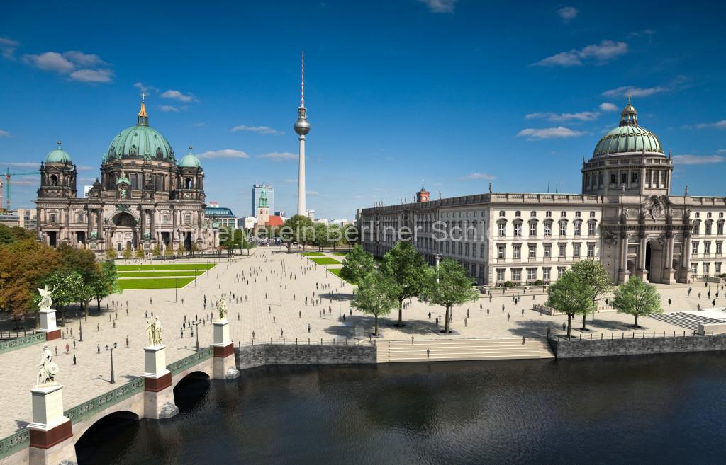 Neues Schloss Humboldt Forum Berliner Schloss